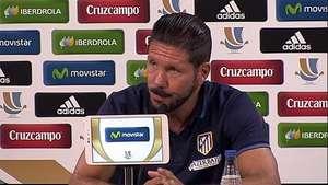 Simeone, suspendido por ocho partidos Video: