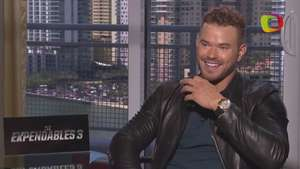 Kellan Lutz deja look vampírico y rebosa de testosterona 'The Expendables 3' Video:
