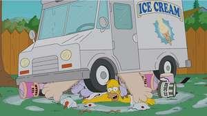 Homero Simpson y su peculiar reto del Ice Bucket Challenge Video: