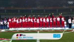 Sub 15 de Perú canta con emoción el himno peruano Video: