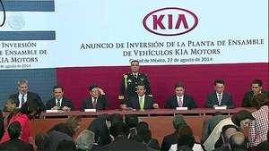 Surcoreana Kia llega a México Video: