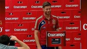 Xabi Alonso anuncia que deja la selección española Video: