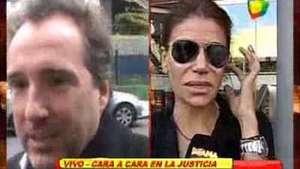 Zulemita Menem, cara a cara en la justicia con su ex Video: