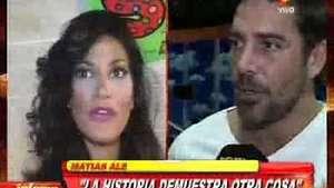 "Matías Alé: ""Me sentí identificado con Amestoy"" Video:"