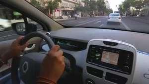 ¿Puede un coche eléctrico funcionar como un taxi? Video: