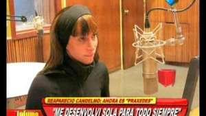 Reapareció Malena Candelmo: ahora se llama Praxedes Video: