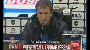 Boca presentó a Arruabarrena como nuevo DT Video: