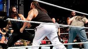 SmackDown: los Wyatt no pueden con los gigantes Show, Henry y Reigns Video: