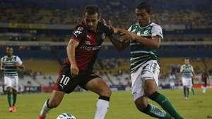 Jornada 7, Atlas 1-1 Santos, Liga Mx, Apertura 2014 Video: