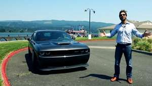 TERRA - Prueba Dodge Challenger SRT Hellcat 2015 Video: