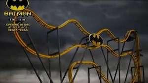 Batman: la nueva y terrorífica montaña rusa 4D Video:
