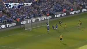 Alexis Sánchez marca su segundo gol por el Arsenal Video: