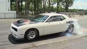 Mopar Dodge Challenger Drag Pack Concept, nuevo 'quemagomas' norteamericano Video: