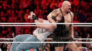 RAW: Rusev ataca a Big Show y Mark Henry en su combate contra los Wyatt Video: