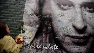 Fanáticos rinden tributo a Cerati Video: