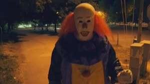 Payaso asesino vuelve con sanguinaria broma Video: