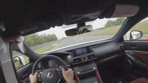 Video: On-board Lexus RC F Video: