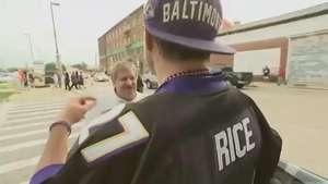 Fans Debate Rice Scandal As Ravens Play Steelers Video: