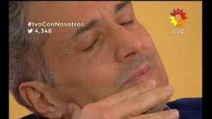 Ivo Cutzarida se quebró en vivo con Fabián Doman  Video: