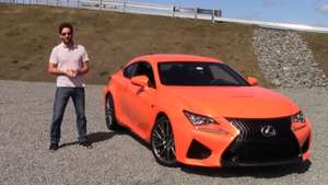 Video: Prueba Lexus RC F Video: