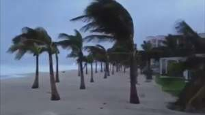Raw: Hurricane Odile Makes Landfall in Mexico Video: