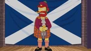 Willie de Los Simpsons a favor de independencia de Escocia Video: