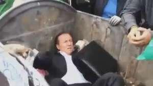 Tiran a la basura a un diputado ucraniano Video: