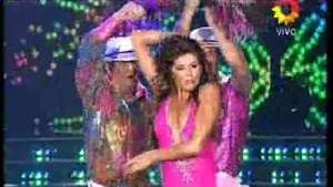 Bailando 2014: Loly brilla en la salsa en trío Video: