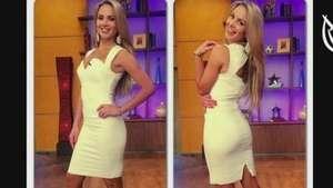 A Ximena Córdoba le gusta lucir sus curvas Video: