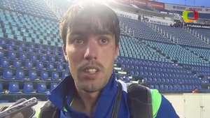Mauro Formica acepta mal momento de Cruz Azul Video: