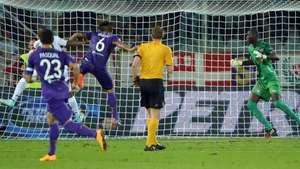 Juan Vargas anota en debut de Fiorentina en Europa League Video: