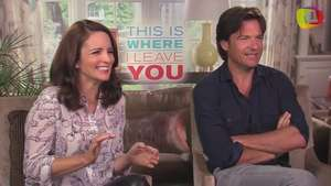 'This Is Where I Leave You':  Jason Bateman y Tina Fey fans de súper 'lolas' de Jane Fonda Video: