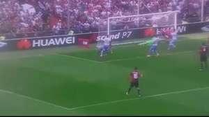Pinilla marcó el gol de la victoria para Genoa Video: