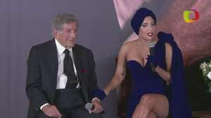 "Lady Gaga y Tony Bennett presentan su álbum ""Cheek to cheek"" Video:"