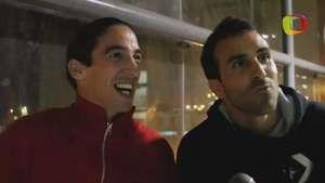 Alemanno y Carvallo calientan el Universitario vs Cristal Video: