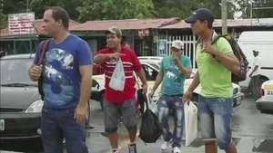 Autoridades migratorias de México liberaron a náufragos cubanos Video: