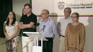 Colombia : gobierno y FARC divulgan acuerdos parciales Video: