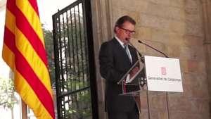 Cataluña convoca consulta independentista Video: