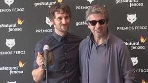 Raúl Arévalo recibe el premio Feroz Video: