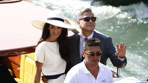 George Clooney's Off The Market! Video: