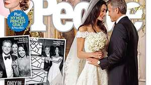 George Clooney and Amal Alamuddin's First Wedding Photo Video: