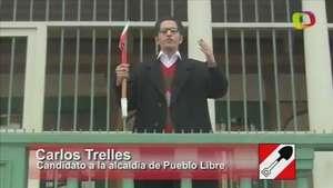 Candidato de Pueblo Libre declara la Nueva Independencia de su distrito Video: