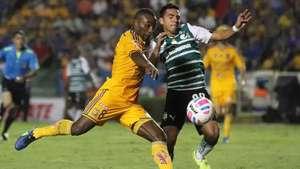Jornada 11, Tigres 1-1 Santos, Liga Mx, Apertura 2014 Video: