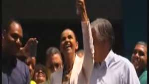 Marina Silva confía en llegar a segunda vuelta Video: