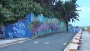 El arte urbano toma La Perla, el barrio más humilde de la capital boricua Video: