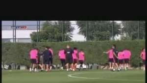 Thomas Vermaelen sigue sin entrenarse con el grupo Video: