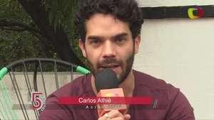 Conoce más sobre Carlos Athié en '5 minutos' Video: