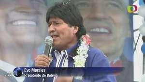 Evo Morales, favorito para ganar elecciones en Bolivia Video: