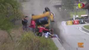 Video Accidente Rally Valle d'Aosta 2014 Video: