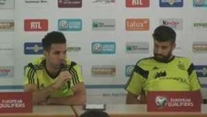 Cesc y Piqué salen en defensa de Casillas Video: